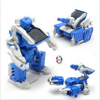Solar Power Diy Robot Seti