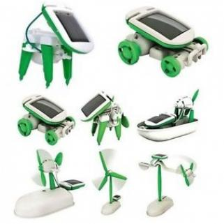 Solar Power Diy Toys Seti