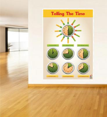 Telling The Time Poster - Saat Gösterimi Poster