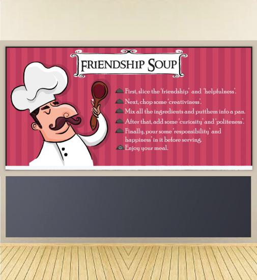 Friendship Soup Poster
