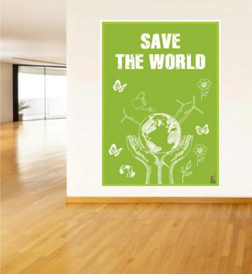Save The World  Poster - Dünyayı Kurtar Posteri